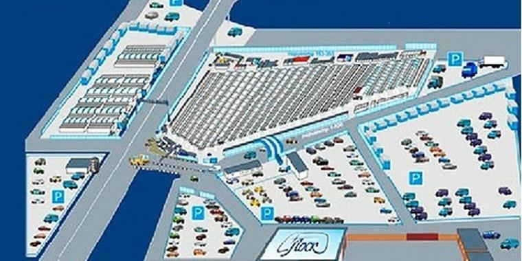 Рынок Лоск карта